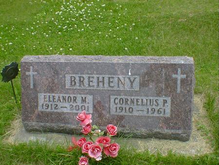 BREHENY, CORNELIUS P. - Cerro Gordo County, Iowa | CORNELIUS P. BREHENY