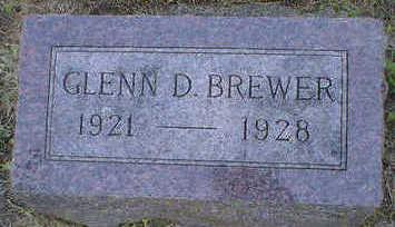 BREWER, GLENN D. - Cerro Gordo County, Iowa | GLENN D. BREWER