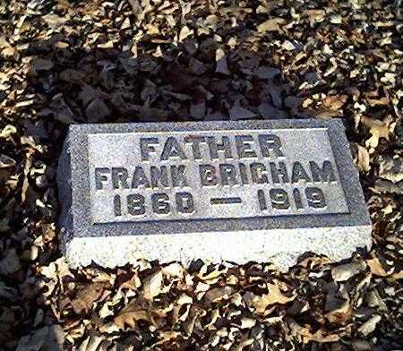 BRIGHAM, FRANK - Cerro Gordo County, Iowa | FRANK BRIGHAM