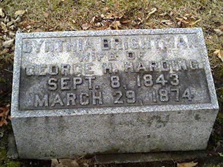 BRIGHTMAN HARDING, CYNTHIA - Cerro Gordo County, Iowa | CYNTHIA BRIGHTMAN HARDING