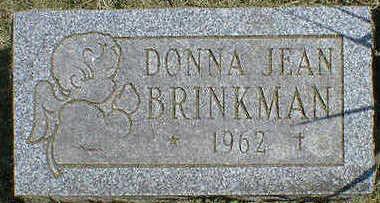 BRINKMAN, DONNA JEAN - Cerro Gordo County, Iowa   DONNA JEAN BRINKMAN