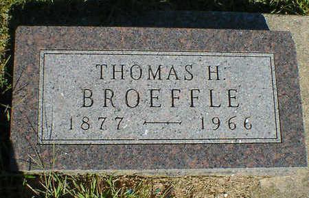 BROEFFLE, THOMAS H. - Cerro Gordo County, Iowa | THOMAS H. BROEFFLE
