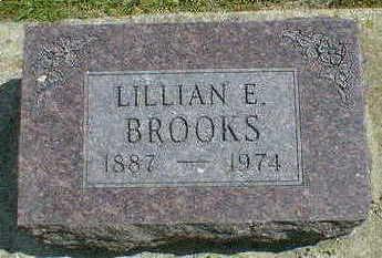 BROOKS, LILLIAN E. - Cerro Gordo County, Iowa | LILLIAN E. BROOKS