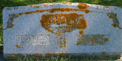 BROSE, MARY HELEN (HADDOW) - Cerro Gordo County, Iowa   MARY HELEN (HADDOW) BROSE