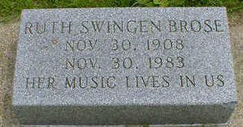 SWINGEN BROSE, RUTH - Cerro Gordo County, Iowa | RUTH SWINGEN BROSE