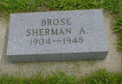 BROSE, SHERMAN A. - Cerro Gordo County, Iowa | SHERMAN A. BROSE