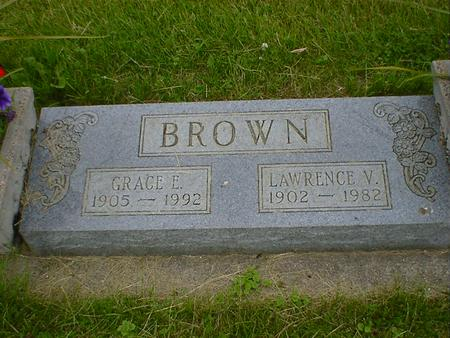 BROWN, LAWRENCE V. - Cerro Gordo County, Iowa | LAWRENCE V. BROWN
