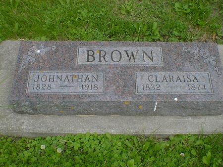 BROWN, CLARAISA - Cerro Gordo County, Iowa | CLARAISA BROWN