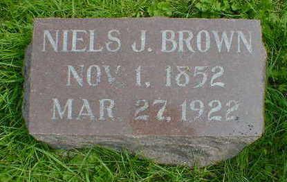 BROWN, NIELS J. - Cerro Gordo County, Iowa | NIELS J. BROWN