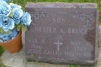 BRUCE, CHESTER A. JR. - Cerro Gordo County, Iowa | CHESTER A. JR. BRUCE