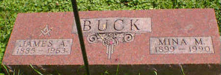 BUCK, MINA M. - Cerro Gordo County, Iowa | MINA M. BUCK