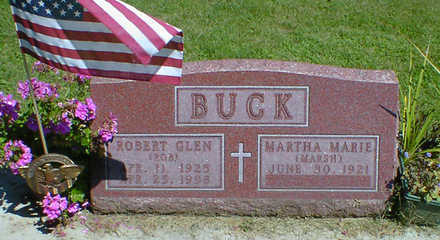 BUCK, ROBERT GLEN