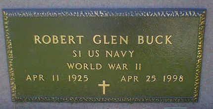 BUCK, ROBERT GLEN - Cerro Gordo County, Iowa | ROBERT GLEN BUCK