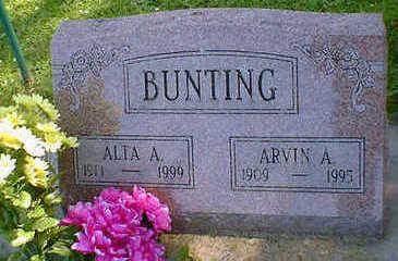 BUNTING, ALTA A - Cerro Gordo County, Iowa   ALTA A BUNTING