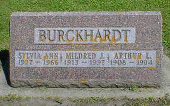 BURCKHARDT, SYLVIA ANN - Cerro Gordo County, Iowa   SYLVIA ANN BURCKHARDT
