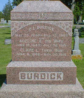 BURDICK, O.L. - Cerro Gordo County, Iowa | O.L. BURDICK
