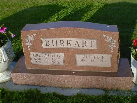 BURKART, GRETCHEN G. - Cerro Gordo County, Iowa | GRETCHEN G. BURKART