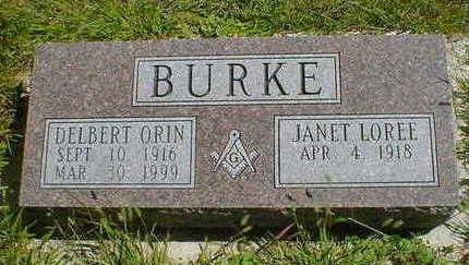 BURKE, DELBERT ORIN - Cerro Gordo County, Iowa | DELBERT ORIN BURKE