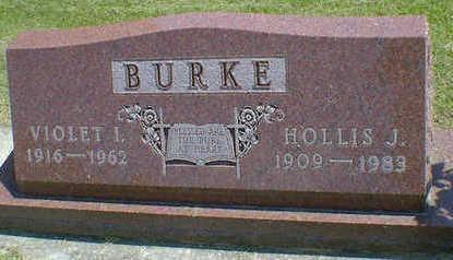 BURKE, HOLLIS J. - Cerro Gordo County, Iowa | HOLLIS J. BURKE