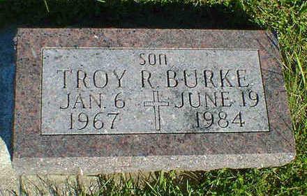 BURKE, TROY R. - Cerro Gordo County, Iowa | TROY R. BURKE