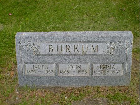 BURKUM, JAMES - Cerro Gordo County, Iowa | JAMES BURKUM