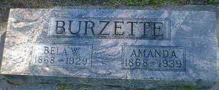 BURZETTE, AMANDA - Cerro Gordo County, Iowa   AMANDA BURZETTE
