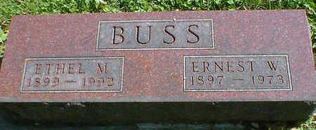 BUSS, ERNEST W. - Cerro Gordo County, Iowa | ERNEST W. BUSS
