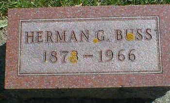 BUSS, HERMAN G. - Cerro Gordo County, Iowa | HERMAN G. BUSS