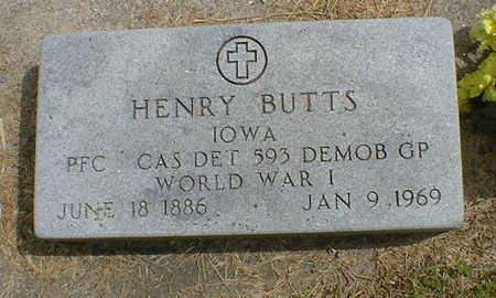 BUTTS, HENRY - Cerro Gordo County, Iowa | HENRY BUTTS