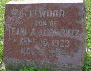 BUTZ, ELWOOD - Cerro Gordo County, Iowa   ELWOOD BUTZ
