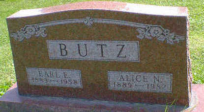 BUTZ, EARL E. - Cerro Gordo County, Iowa | EARL E. BUTZ