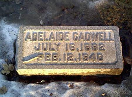 CADWELL, ADELAINE - Cerro Gordo County, Iowa | ADELAINE CADWELL