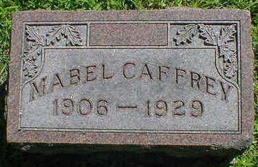 CAFFREY, MABEL - Cerro Gordo County, Iowa | MABEL CAFFREY