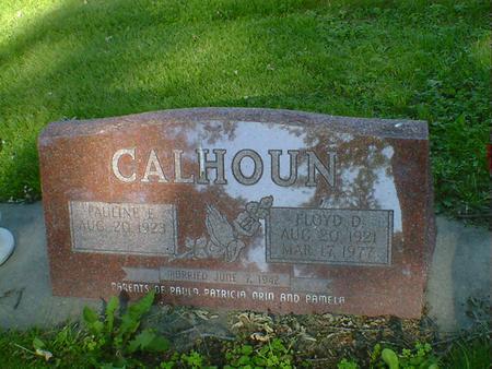 CALHOUN, PAULINE E. - Cerro Gordo County, Iowa | PAULINE E. CALHOUN