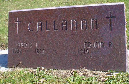 CALLANAN, ARDIS L. - Cerro Gordo County, Iowa   ARDIS L. CALLANAN
