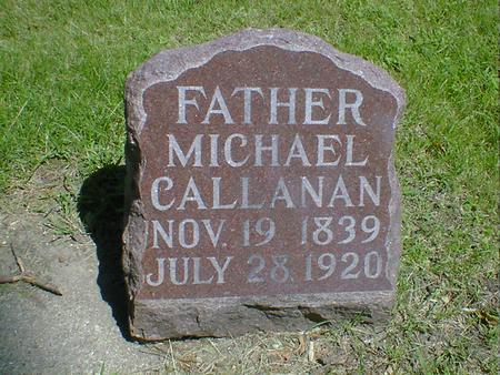 CALLANAN, MICHAEL - Cerro Gordo County, Iowa | MICHAEL CALLANAN