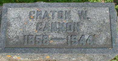CANNON, CRATON W. - Cerro Gordo County, Iowa | CRATON W. CANNON