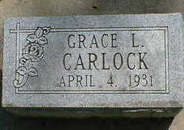 CARLOCK, GRACE L. - Cerro Gordo County, Iowa | GRACE L. CARLOCK