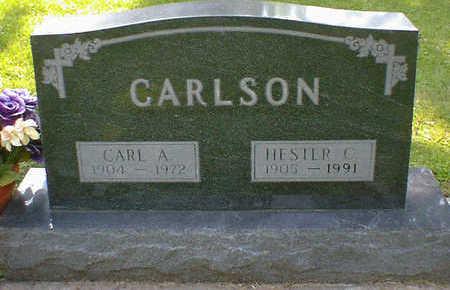 CARLSON, CARL A. - Cerro Gordo County, Iowa | CARL A. CARLSON
