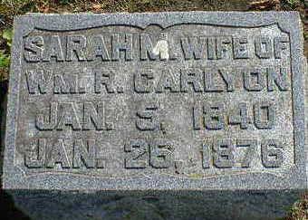 CARLYON, SARAH M. - Cerro Gordo County, Iowa | SARAH M. CARLYON