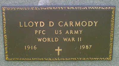 CARMODY, LLOYD D. - Cerro Gordo County, Iowa   LLOYD D. CARMODY