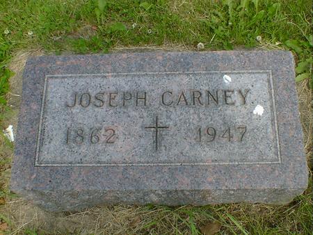 CARNEY, JOSEPH - Cerro Gordo County, Iowa   JOSEPH CARNEY