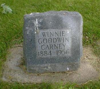 CARNEY, WINNIE - Cerro Gordo County, Iowa | WINNIE CARNEY