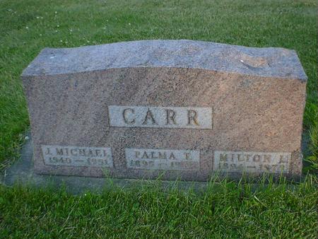 CARR, PALMA T. - Cerro Gordo County, Iowa | PALMA T. CARR