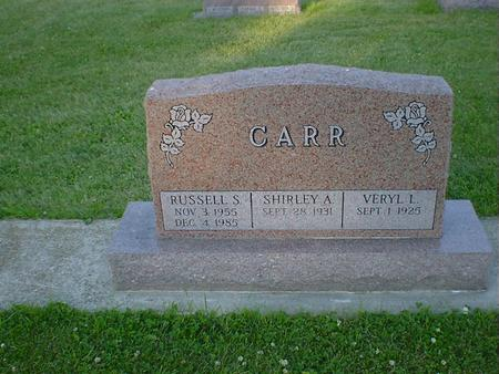 CARR, RUSSELL S. - Cerro Gordo County, Iowa | RUSSELL S. CARR