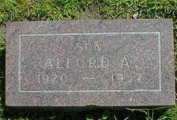 CARSTENS, ALFORD A. - Cerro Gordo County, Iowa   ALFORD A. CARSTENS