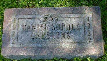CARSTENS, DANIEL SOPHUS - Cerro Gordo County, Iowa | DANIEL SOPHUS CARSTENS
