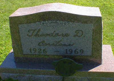 CARSTENS, THEODORE D. - Cerro Gordo County, Iowa | THEODORE D. CARSTENS