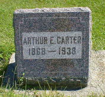 CARTER, ARTHUR E. - Cerro Gordo County, Iowa   ARTHUR E. CARTER