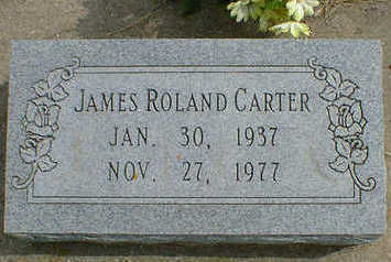 CARTER, JAMES ROLAND - Cerro Gordo County, Iowa | JAMES ROLAND CARTER